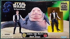Star Wars The Power of the Force Trilogy Edition Box Set Jabba the Hutt and Han Solo