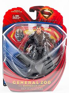 Mattel Man of Steel Movie Masters: General Zod (With Kryptonian Armor)