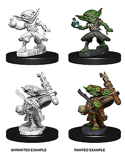 Pathfinder Deep Cuts Unpainted Miniatures: Male Goblin Alchemist