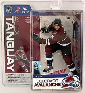 NHL Sportspicks Series 13 Alex Tanguay (Colorado Avalanche) Maroon Jersey Variant