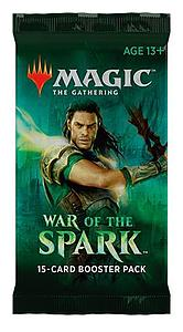 Magic the Gathering: War of the Spark Booster Pack (15 Cards)