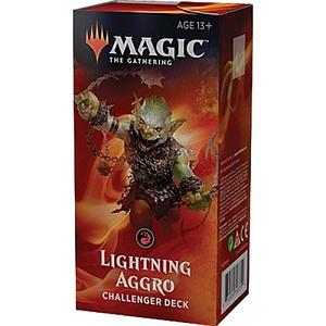 Magic the Gathering: 2019 Challenger Deck - Lightning Aggro