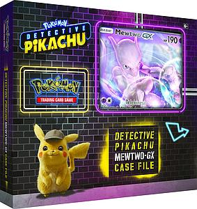 Pokemon Trading Card Game: Detective Pikachu - Mewtwo-GX Case File Box