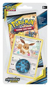 Pokemon Trading Card Game: Sun & Moon (SM10) Unbroken Bonds Checklane Blister Pack - Eevee
