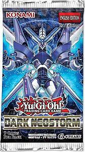 YuGiOh Trading Card Game Duelist Pack: Dark Neostorm Booster Pack