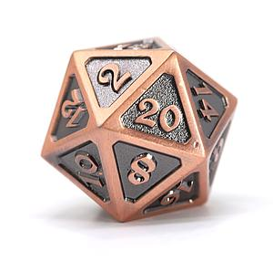 Big D20 - Mythica Battleworn Copper