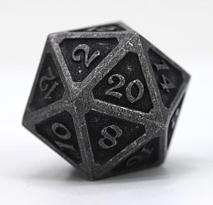 Big D20 - Mythica Dark Iron