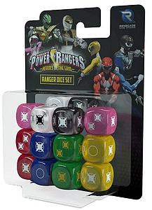 Power Rangers: Ranger Dice Set