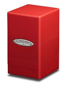 Deck Box Satin Tower: Red
