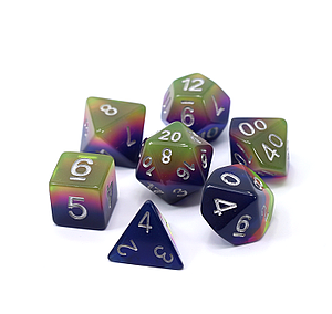 Poly RPG 7-Dice Set: The Gloaming