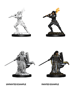 Dungeons & Dragons Nolzur's Marvelous Unpainted Miniatures: Female Human Paladin