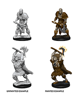 Dungeons & Dragons Nolzur's Marvelous Unpainted Miniatures: Male Goliath Barbarian