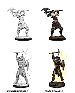 Dungeons & Dragons Nolzur's Marvelous Unpainted Miniatures: Female Goliath Barbarian