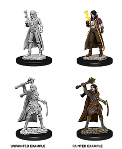 Dungeons & Dragons Nolzur's Marvelous Unpainted Miniatures: Female Elf Cleric