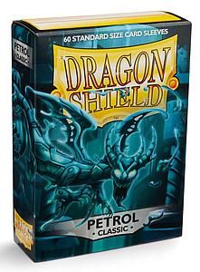 Dragon Shield Sleeves Standard Size: Classic Petrol