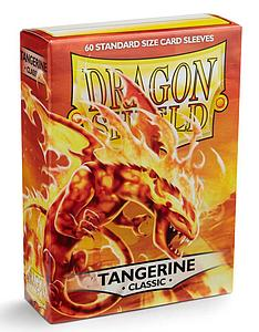 Dragon Shield Sleeves Standard Size: Classic Tangerine