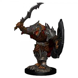 Dungeons & Dragons Icons of the Realms Premium Painted Miniatures: Dragonborn Fighter (Male)