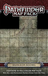 Pathfinder Role Playing Game: Dungeon Rooms Map Pack (Out of Print)