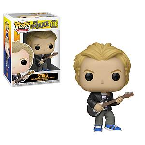 Pop! Rocks The Police Vinyl Figure Sting #118