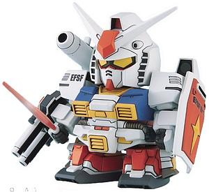 Gundam SD BB Model Kit: #236 PF-78-1 Perfect Gundam