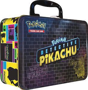 Pokemon Collector Chest Tin: Detective Pikachu