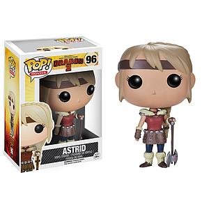 Pop! Movies How to Train Your Dragon 2 Vinyl Figure Astrid #96 (Retired)