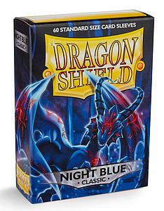 Dragon Shield Sleeves Standard Size: Classic Night Blue