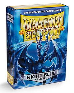 Dragon Shield Sleeves Standard Size: Matte Night Blue