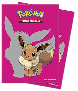 Pokemon Eevee Standard Card Sleeves (66mm x 91mm)