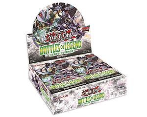 YuGiOh Trading Card Game Pack: Battle of Legend - Hero's Revenge Booster Box