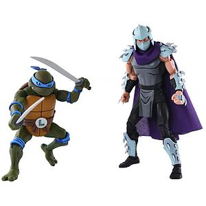 Teenage Mutant Ninja Turtles 2-Pack: Leonardo vs. Shredder