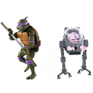 Teenage Mutant Ninja Turtles 2-Pack: Donatello vs. Krang