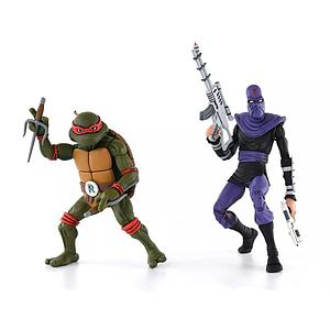 Teenage Mutant Ninja Turtles 2-Pack: Raphael vs. Foot Soldier