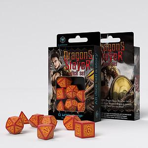 Dragon Slayer Dice Set: Red & Orange