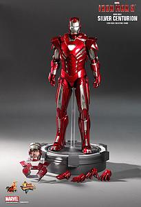 Iron Man 3 Movie Masterpiece Series 1/6 Scale: Iron Man Mark XXXIII Silver Centurion