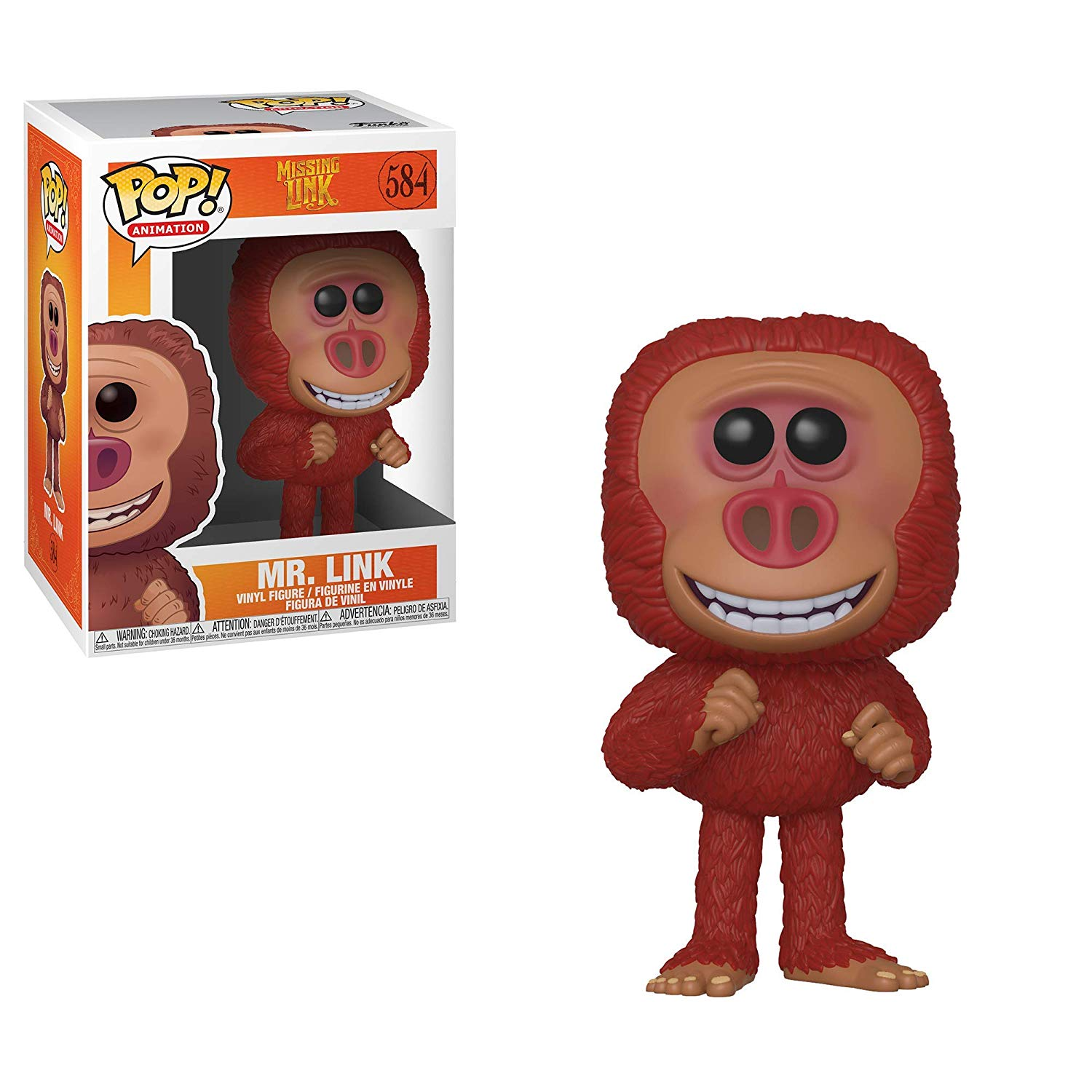 Pop! Animation Missing Link Vinyl Figure Mr. Link #584