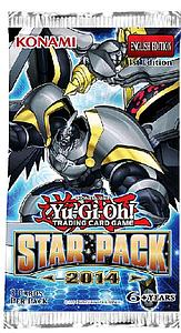 Yugioh Trading Card Game: Star Pack 2014 Booster Pack
