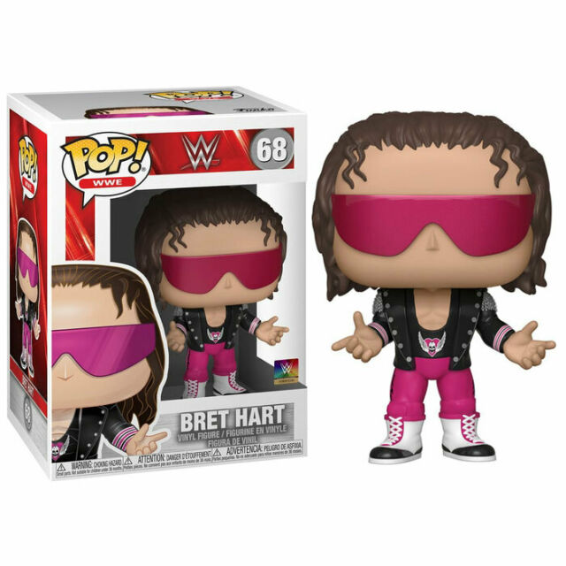 Pop! WWE Vinyl Figure Bret Hart #68