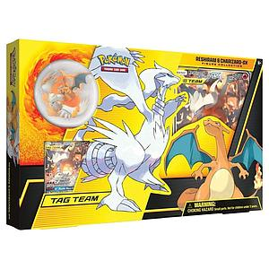 Pokemon Trading Card Game: Reshiram & Charizard-GX Figure Collection Box