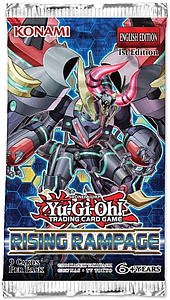 YuGiOh Trading Card Game: Rising Rampage Booster Pack