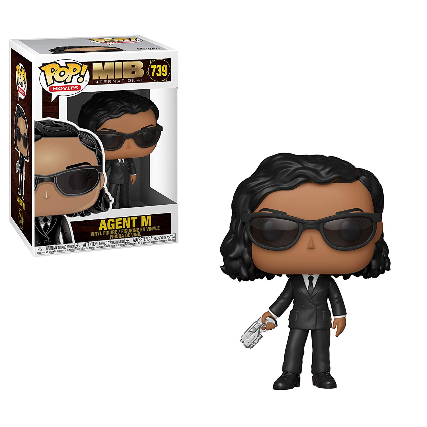 Pop! Movies MIB International Vinyl Figure Agent M #739