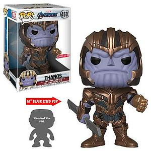 "Pop! Marvel Avengers: Endgame Vinyl Bobble-Head Mega 10"" Thanos #460 Target Exclusive"
