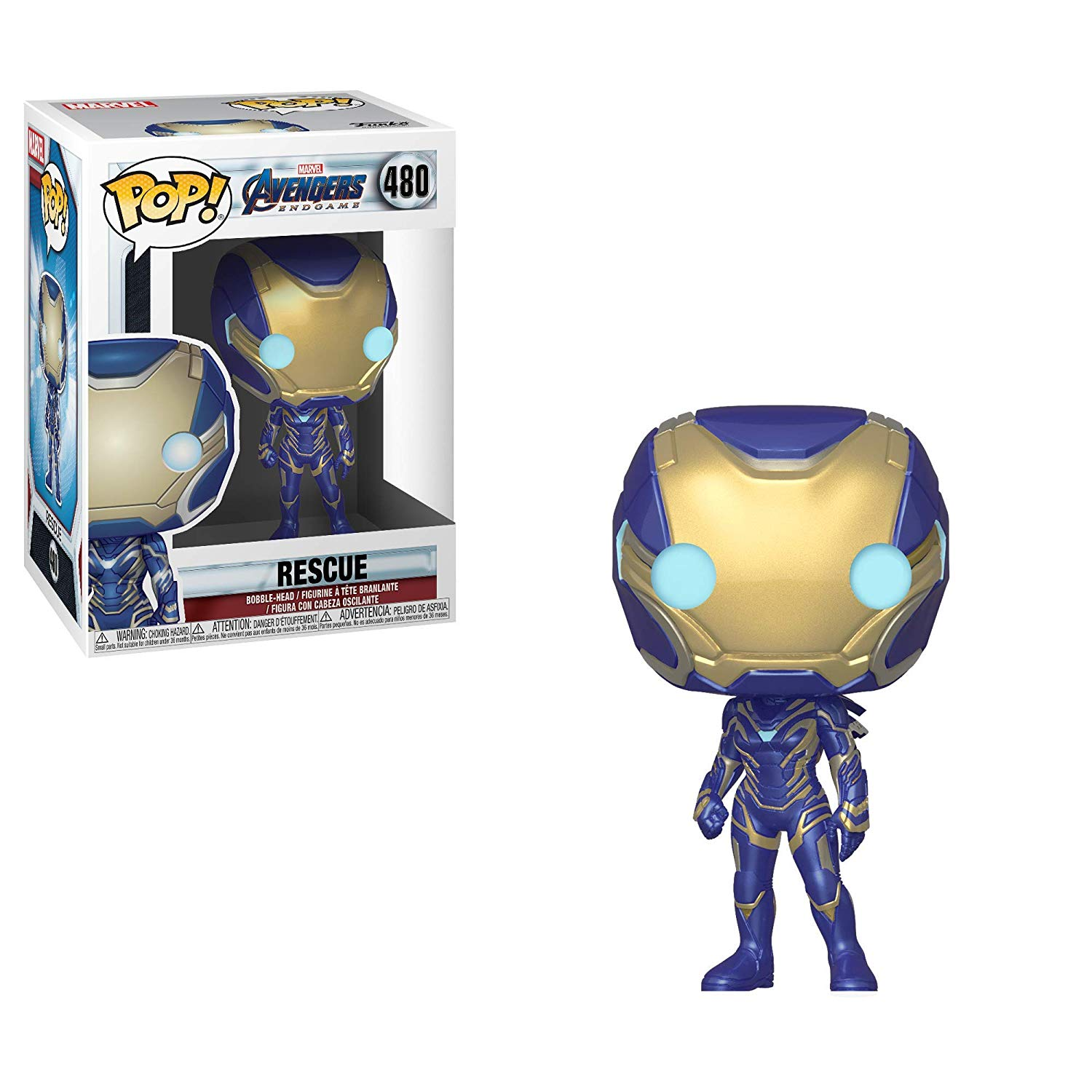 Pop! Marvel Avengers: Endgame Vinyl Bobble-Head Rescue #480