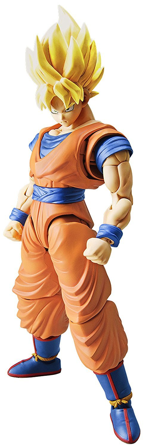 Dragon Ball Z Plastic Model Kit: Super Saiyan Son Goku