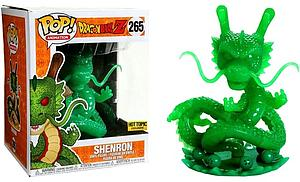 "Pop! Animation Dragon Ball Z Vinyl Figure 6"" Shenron (Jade) #265 Hot Topic Exclusive"