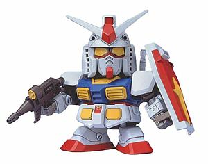 Gundam SD BB G Generation 0 Model Kit: #200 RX-78-2 Gundam
