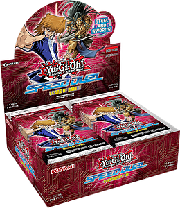 YuGiOh Trading Card Game Pack: Speed Duel - Scars of Battle Booster Box