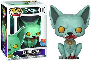 Pop! Comics Saga Vinyl Figure Lying Cat Bloody Version #11 Diamond Exclusive
