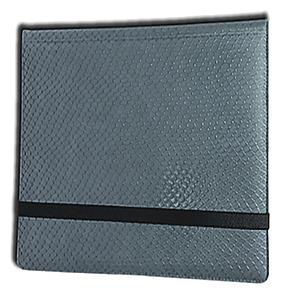 12 Pocket Binder: Grey (Dragonhide)
