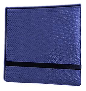 12 Pocket Binder: Blue (Dragonhide)